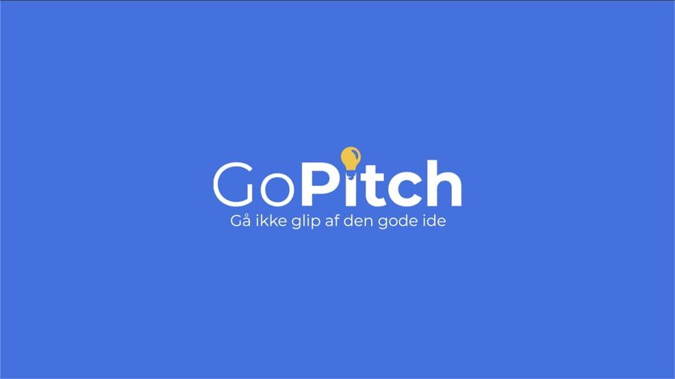 GoPitch cover til logo animation