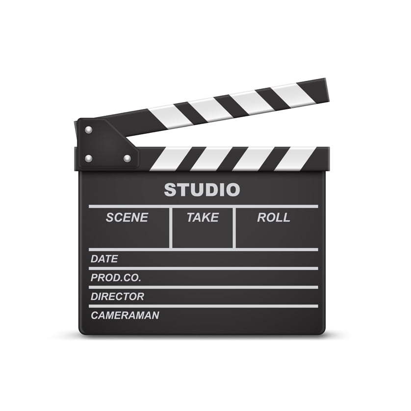 Clapper board til synkronisering af video og lyd