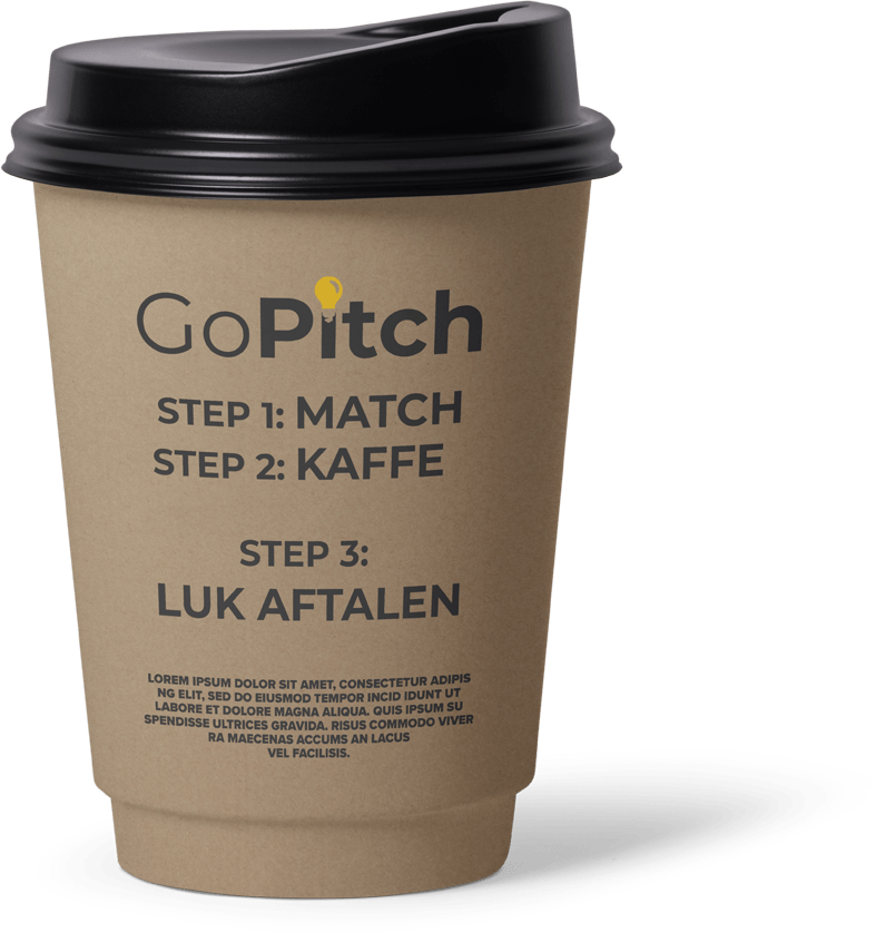 GoPitch kaffe to go