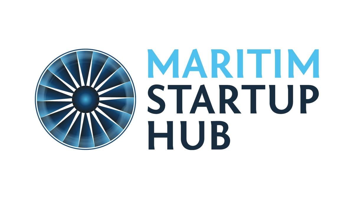 Logo maritim startup hub